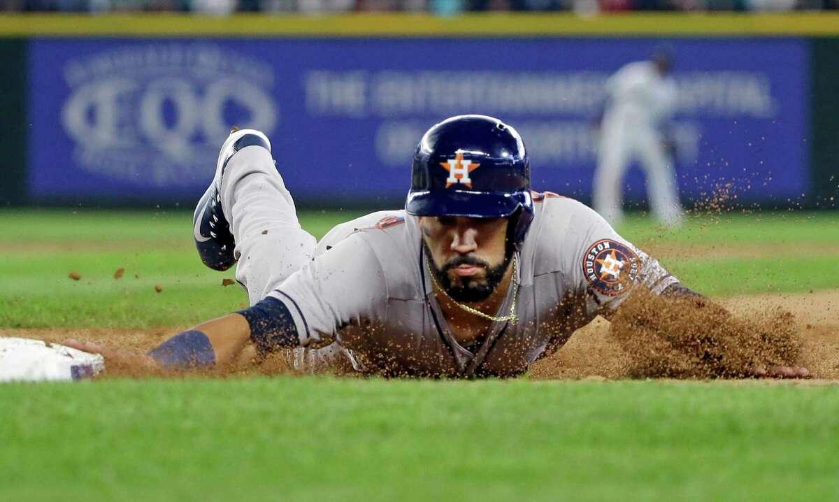 Houston Astros' Marwin Gonzalezwas born on March 14, 1989, in Puerto Ordaz, Bolivar, Venezuela.