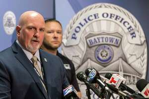 Baytown police Lt. Steve Dorris on Monday identified the suspect and announced his suicide.