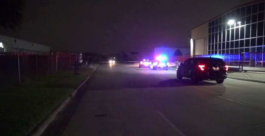 A woman is injured after at least one shot was fired in southwest Houston Tuesday. (Metro Video) Photo: Metro Video