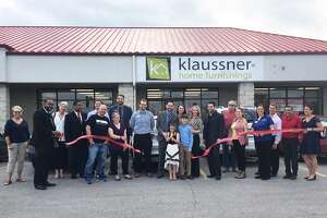 Custom Concepts by Klaussner hosted an open house and ribbon cutting ceremony Monday, April 10 at its recently-acquired location on Center Grove Road. Owner Zack Johnson celebrated with family, friends, local business owners and members of the Edwardsville/Glen Carbon Chamber of Commerce. The store is now officially open for business.
