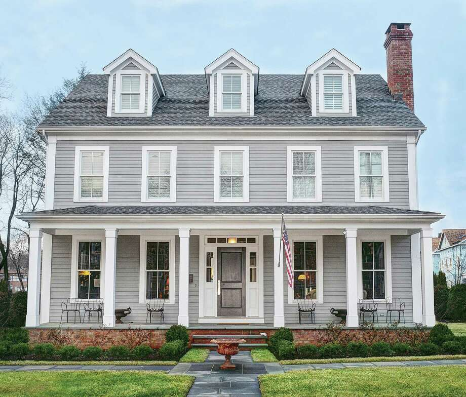 This house at 15 Richmond Hill Road has a classic colonial appearance on the outside and a modern, open floor plan on the inside. Its in-town location makes it steps from the train station, shops, and restaurants.