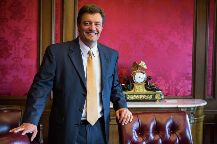 Thomas Ryan, chairman and CEO of Service Corporation International Photo: Brett Coomer, Houston Chronicle / © 2016 Houston Chronicle