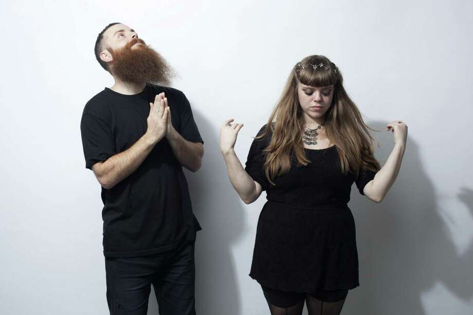 Electronic musicians Logan Woodyard and Stephanie Cardona are Voodoo Boogaloo. Photo: Courtesy Humphries Photography
