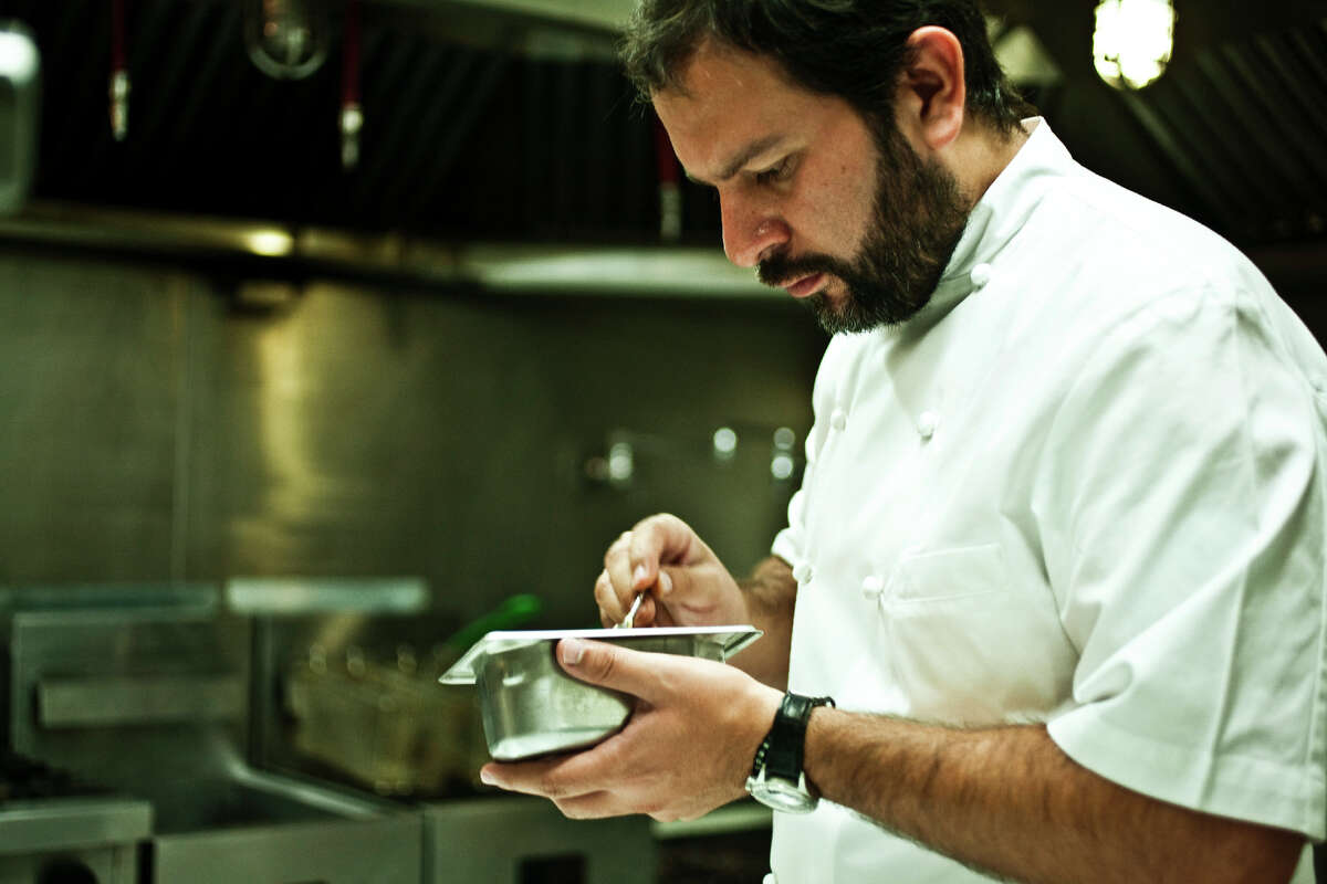 Enrique Olvera is chef/owner of the acclaimed Mexico City restaurant Pujol.