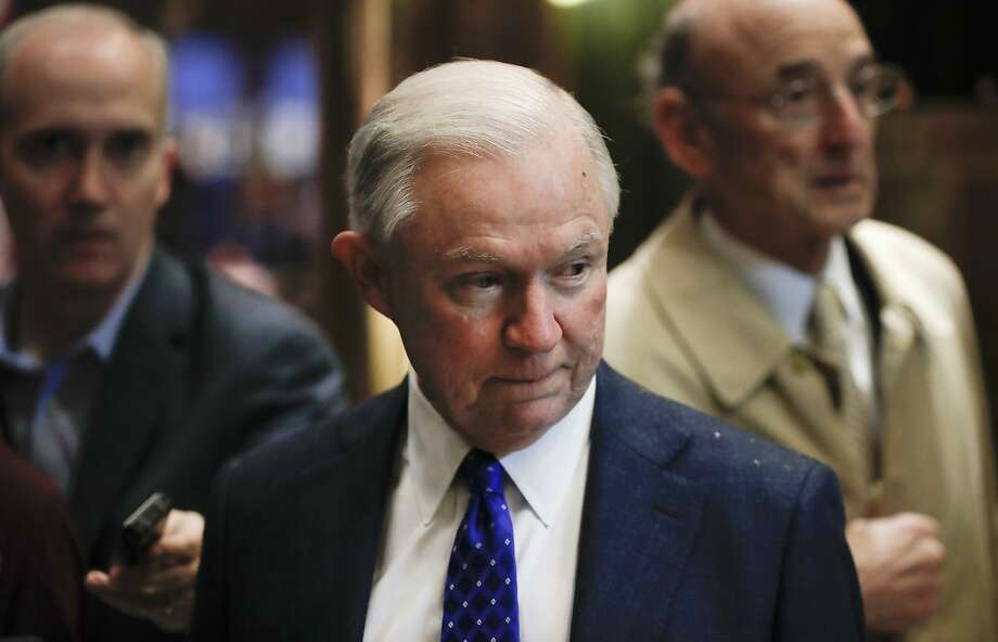 Senate Armed Services Committee member Sen. Jeff Sessions, R-Ala., arrives at Trump Tower, Tuesday, Nov. 15, 2016 in New York. AP Photo/Carolyn Kaster) Photo: Carolyn Kaster, Associated Press