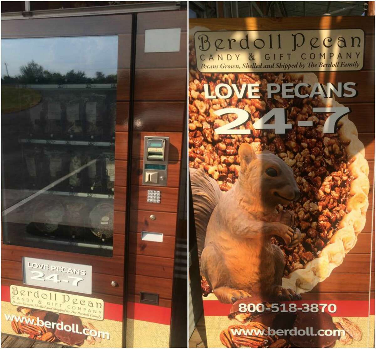 PHOTOS: The best small-town Texas food festivals Wanderlust website Atlas Obscura recently reminded us that you can buy pecan pie, candy, and pecans anytime of day in front of Berdoll Pecan Candy and Gift Company in Cedar Creek. See where the best small town food festivals are in Texas...