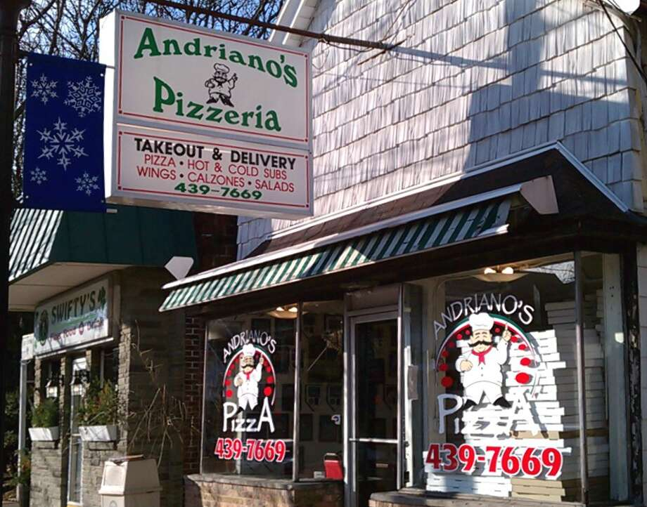 Bethlehem's streetscape improvement program is taking place this year along Delaware Avenue from the Four Corner's where Adriano's and Swifty's is located to Elsmere Avenue. Photo: Andrianospizza.com