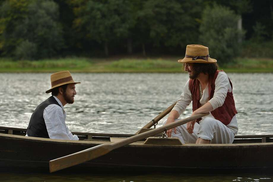 """Guillaume Canet (left) and Guillaume Gallienne start in the friendship movie about Paul Cézanne and Émile Zola, """"Cézanne et moi."""" Photo: Mick LaSalle"""