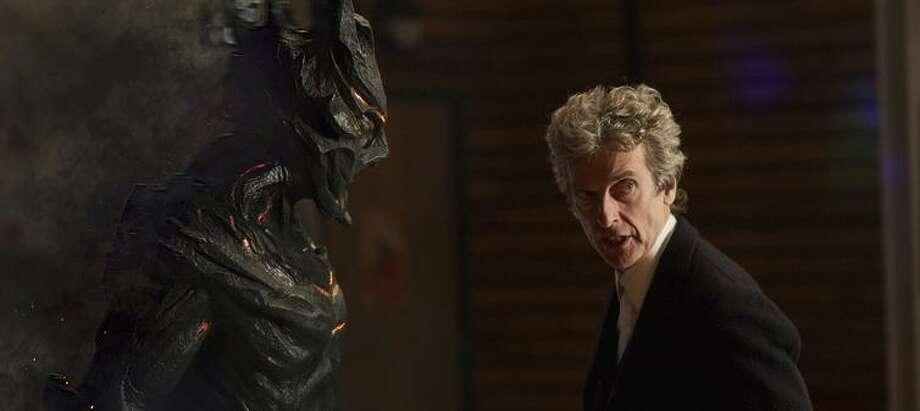 Peter Capaldi pops in for a cameo as Doctor Who. Photo: Simon Ridgeway / Simon Ridgeway / BBC / BBC 2016