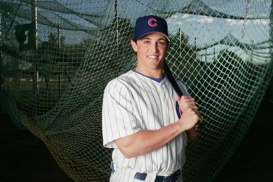 MESA, AZ - FEBRUARY 25:  Adam Greenberg #66 of the Chicago Cubs poses during Spring Training Photo Day at Fitch Park on February 25, 2005 in Mesa, Arizona. (Photo by Jed Jacobsohn/Getty Images) Photo: Jed Jacobsohn, Getty Images