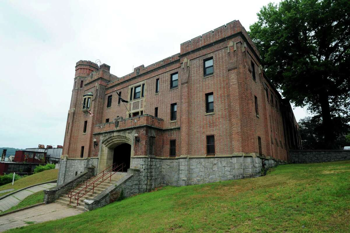 The Ansonia Armory on North Cliff Street.