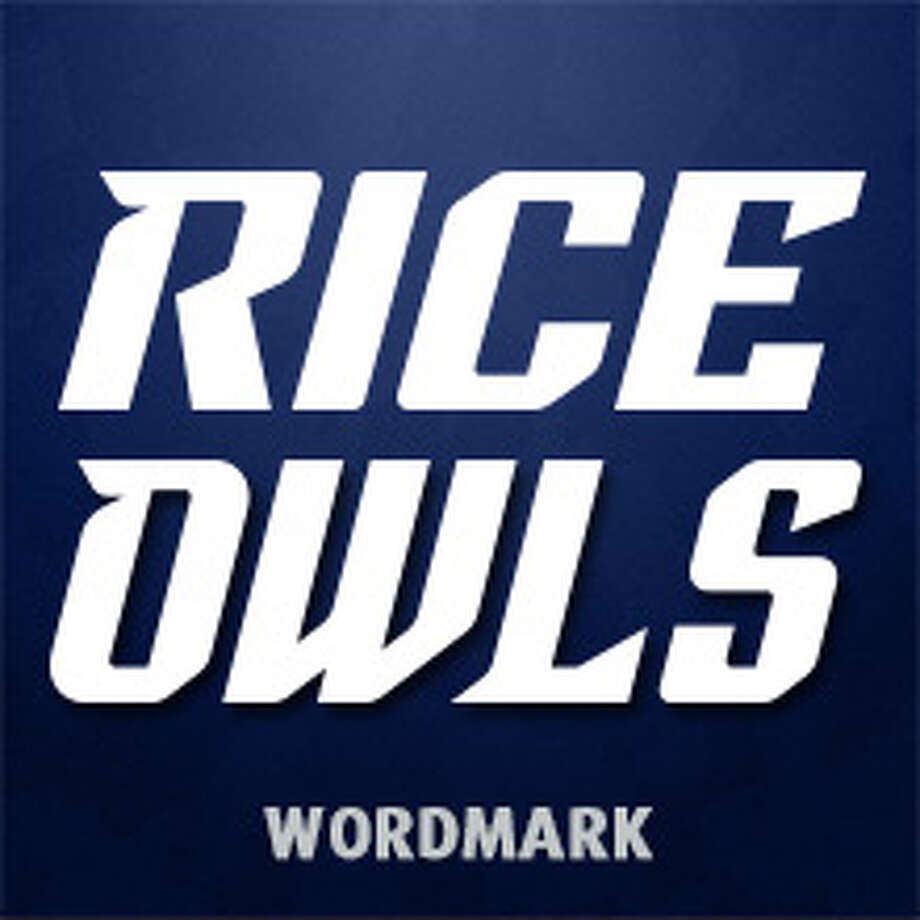 Rice unveiled a fresh branding identity that includes a new, clean and sharp wordmark, owl head and body, fonts and numerals. Photo: Rice Athletics