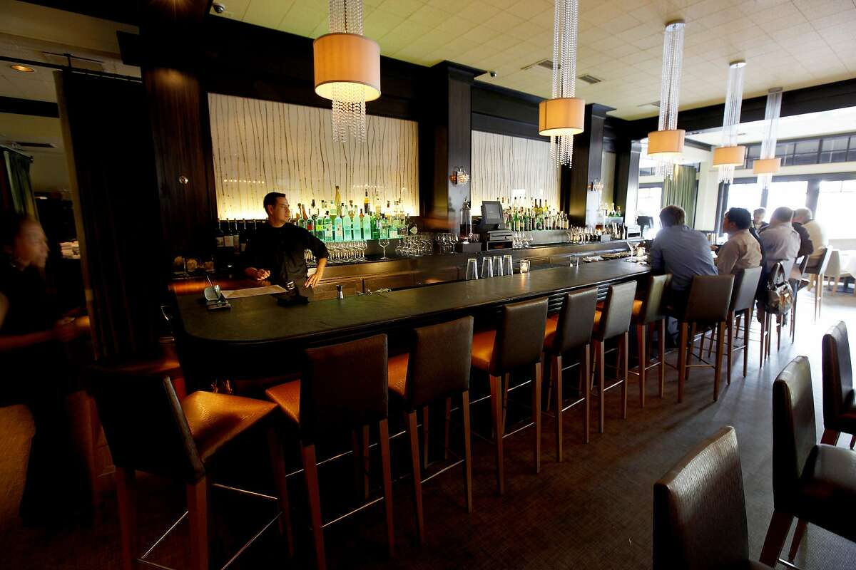 """The bar at """"Tamarine"""" restaurant in Palo Alto, Calif. on Wednesday April 29, 2009."""