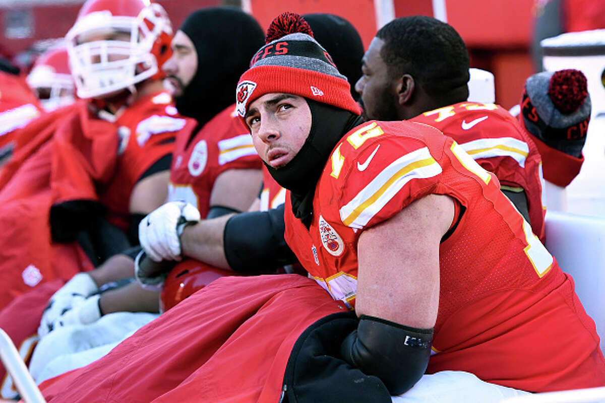 1. Kansas City Chiefs: OT Eric FisherThe top pick in the 2013 NFL Draft has started 59 of possible 64 games for the Chiefs, finding his stride after disappointing rookie and sophomore campaigns, during which he was beaten for a combined 14 sacks. Fisher signed a four-year extension with Kansas City last summer.