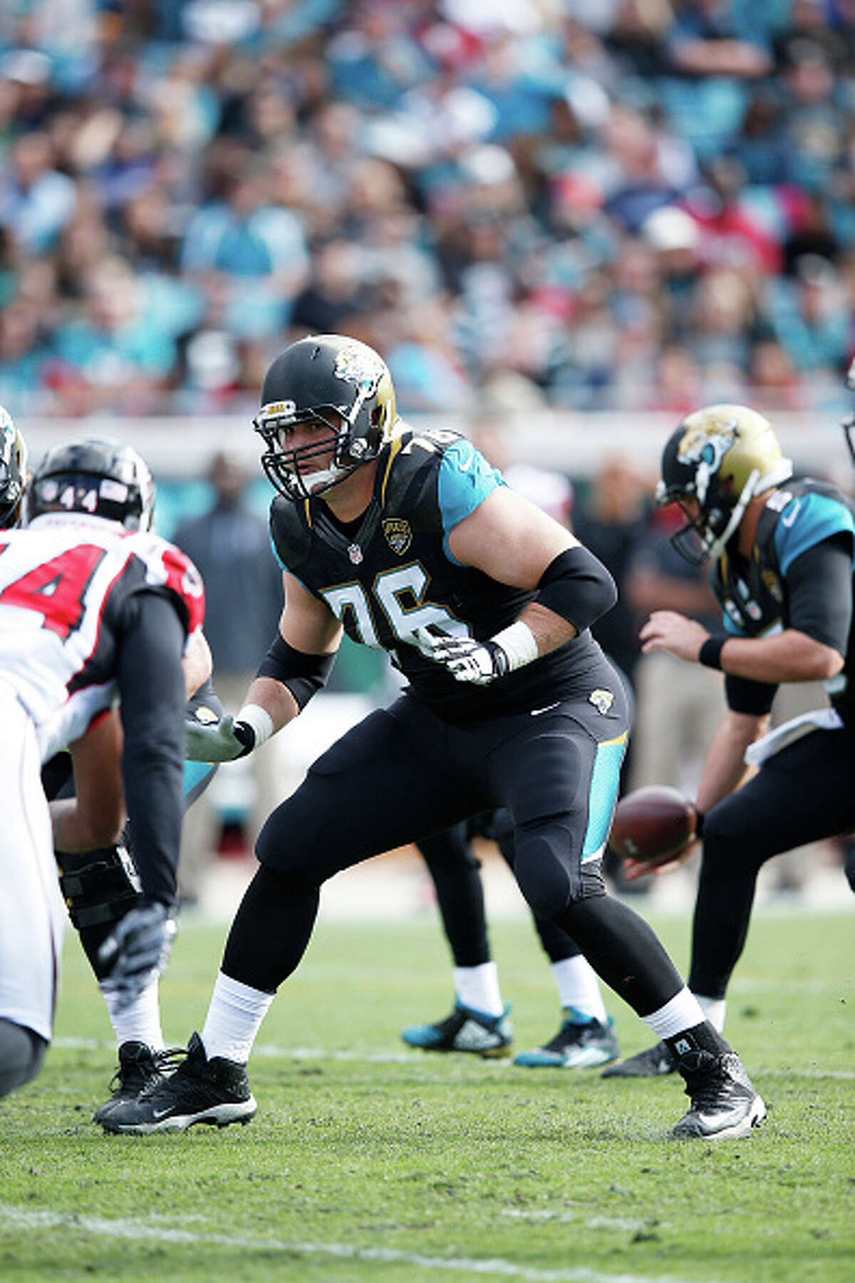 2. Jacksonville Jaguars: OL Luke JoekcelThe offensive lineman out of Texas A&M was the first draft selection under former Jags head coach and Seahawks defensive coordinator Gus Bradley. Joeckel moved from left tackle to guard last season, then suffered a season-ending left knee injury in October. He signed a one-year deal with Seattle in March.