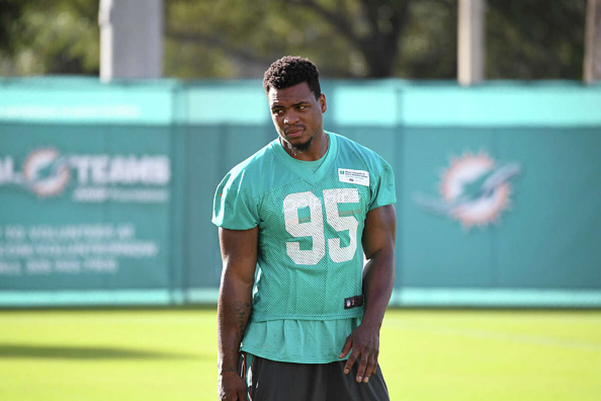 3. Miami Dolphins: DE Dion JordanCut from the Miami Dolphins last month, 2013's No. 3 overall draft selection hasn't played since '14 due to a pair of drug suspensions and a knee injury. The defensive end has played in just 26 career games, making one start. He reportedly agreed to terms with Seattle on Tuesday.