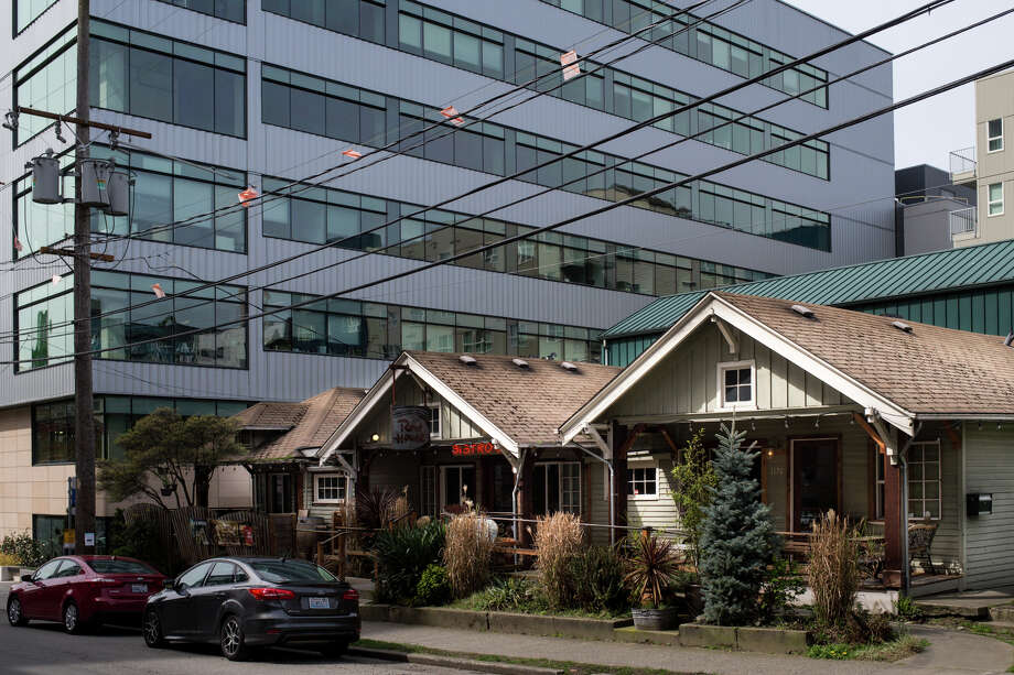 Row House Cafe on Republican Street in South Lake Union is slated for destruction in 2018 for an apartment building. Photo: GRANT HINDSLEY, SEATTLEPI.COM / SEATTLEPI.COM