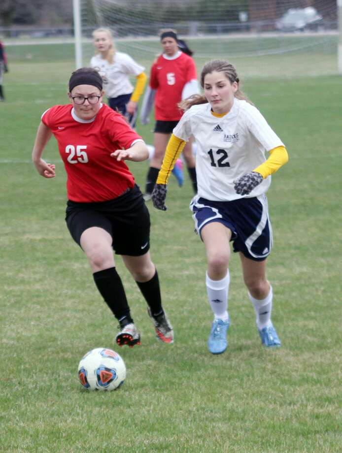 EPBP at Bad Axe Tennis; Dryden at Bad Axe Soccer Photo: Seth Stapleton/Huron Daily Tribune