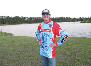 Lumberton's Jared Goebel was announced as a selection to the 2017 Bassmaster All-American Fishing Team on Tuesday. (Photo provided by Bryan Thomas)