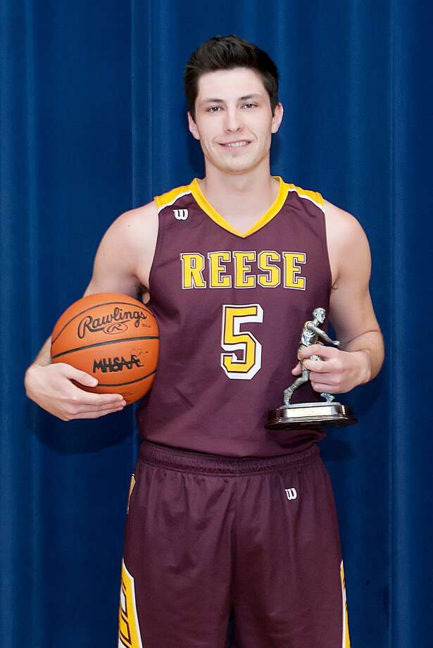 Name: Kyle Stockmeyer (Player of the Year)Team: ReesePos: ForwardClass: Jr.No. 5Height: 6-3PPG: 16.0Rebounds: 6.0Steals: 1.15Assists: 2.0 Photo: KG Photography
