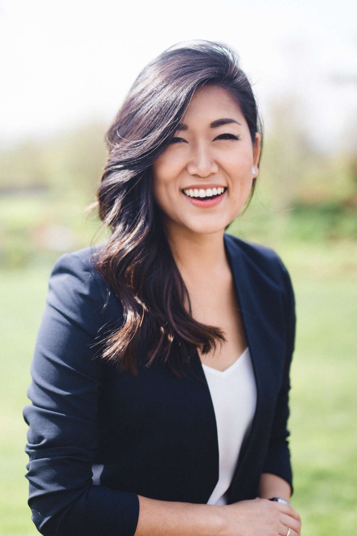 Jinyoung Lee Englund, Republicans' hope to hold pivotal State Senate seat in the 45th District. She has some catching up to do.