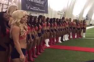 The Houston Texans selected 35 cheerleaders for its 2017 squad on April 11, 2017.