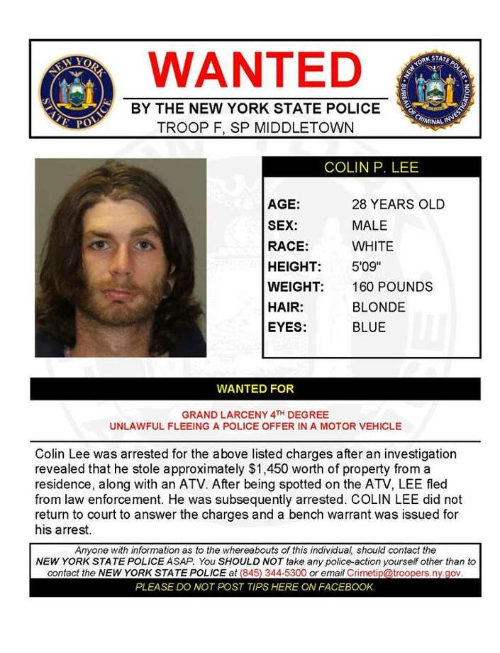 Colin P. Lee, 29. (State Police)