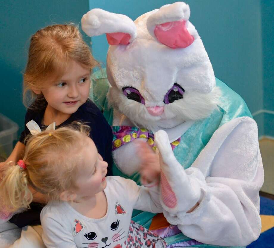 The Unity House Day Care hosted the Spring Bunny on Wednesday, April 12, 2017, in Troy, NY. (Skip Dickstein/Times Union) Photo: Skip Dickstein/Times Union