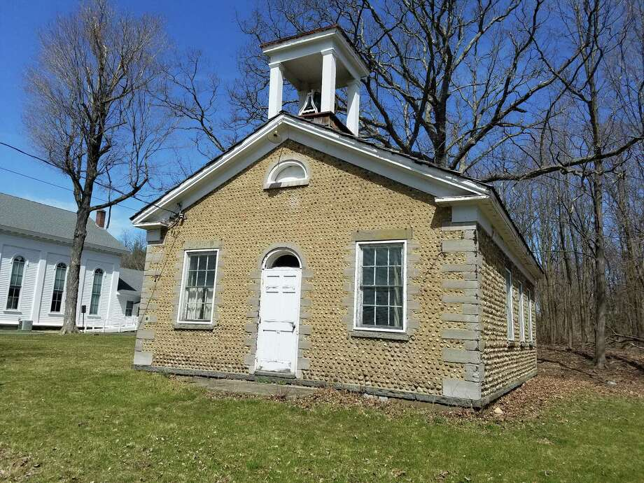 The Cobblestone Schoolhouse opened in 1860, on the eve of the Civil War, and served children for nearly a century. The building is owned by the Guilderland Central School District. (Chris Churchill / Times Union)