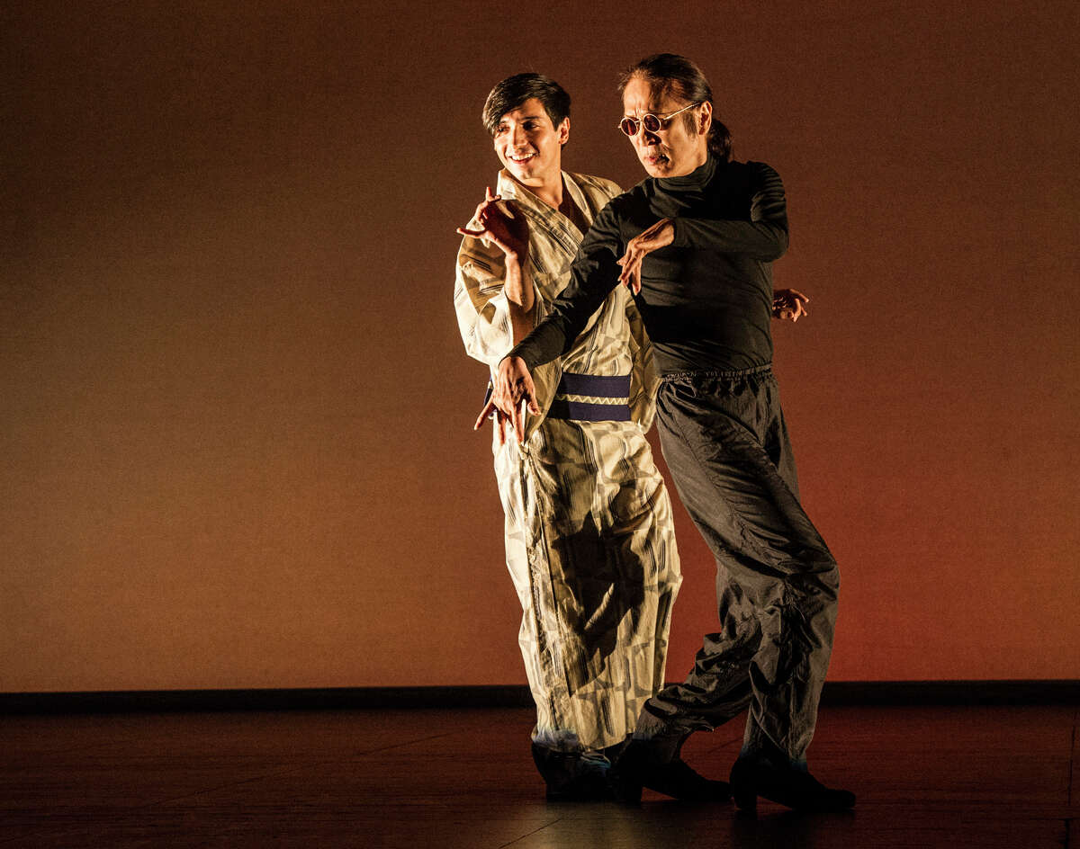 """Mitchell Center for the Arts brings the dance collective winter guests' """"Simulacrum,"""" by choreographer Alan Lucien Oyen, to MATCH april 18-20 as part of the CounterCurrent 17 festival of experimental art and performance."""