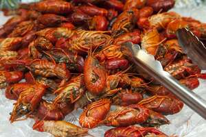 FALLS CHURCH, VA - SEPTEMBER 23: Hokkaido's buffet features over 200 items including crawfish that are photographed Monday September 23, 2013 in Falls Church, VA. (Photo by Katherine Frey/The Washington Post via Getty Images)