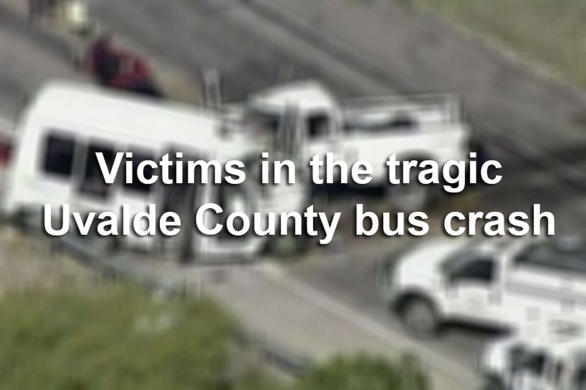 The following 13 victims involved in March's fatal bus crash near Garner State Park have been identified by the Department of Public Safety.