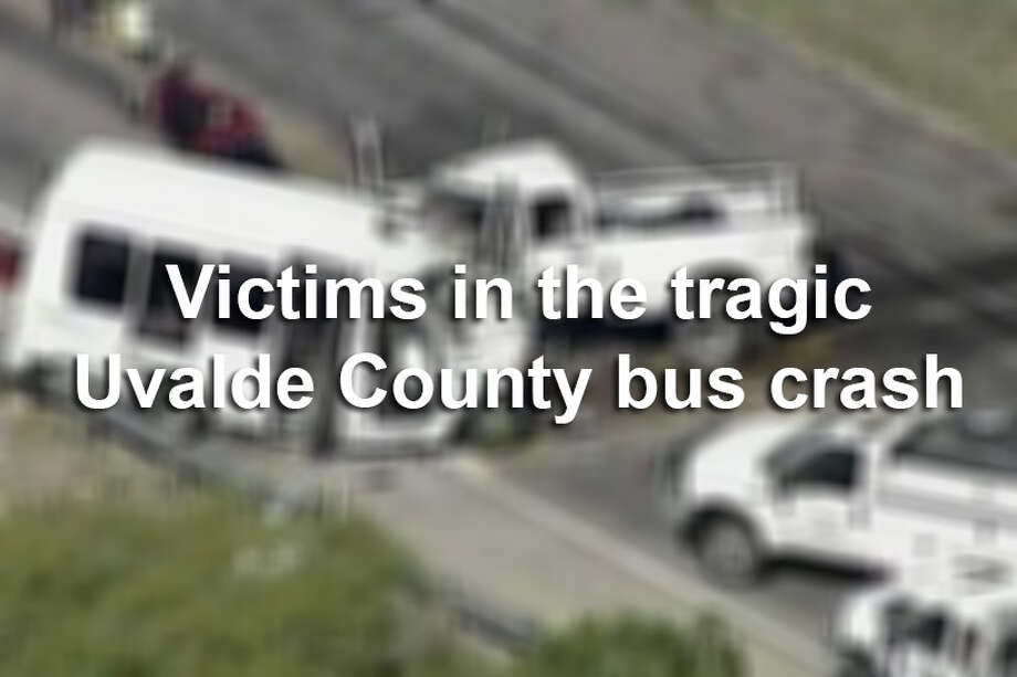 The following 13 victims involved in March's fatal bus crash near Garner State Park have been identified by the Department of Public Safety. Photo: AP