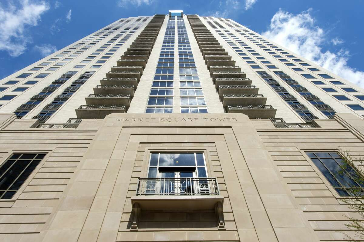 Market Square Tower Height: 502 ft. Status: Completed Tallest building rank: 34 (tied) Used for: Residential high rise