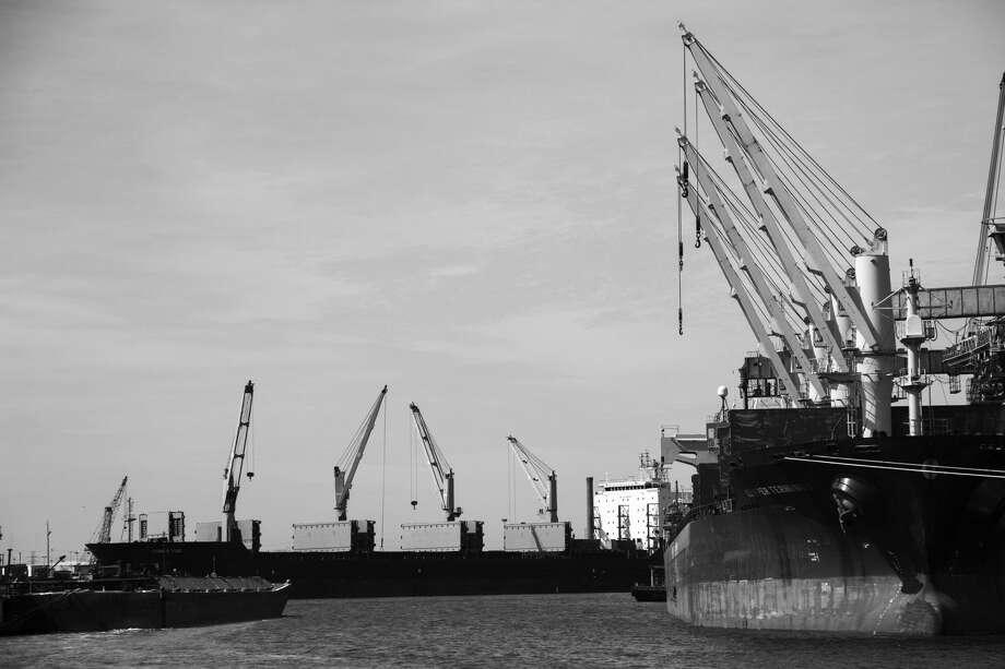 Houston Ship Channel Photo: Geneva Vest