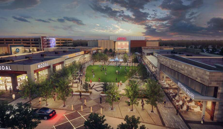 Digital rendering of Shenandoah's new Metropark Square development, owned by Sam Moon Group. The multi-use development, set to be completed in 2020, will offer entertainment, residential, restaurant and retail amenities. Photo: Courtesy Sam Moon Group