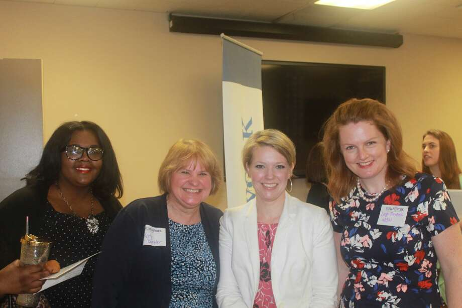 Were you Seen at the Women@Work breakfast event with Miriam Dushane, Managing Director for the Recruiting Division of Linium, at the Times Union in Albany on Wednesday, April 12, 2017? Click here to join the Women@Work business network. www.timesunion.com/womenatworkjoin  Photo: Natalia Robinson