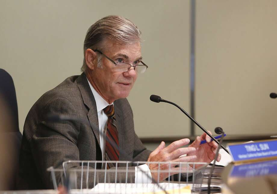 FILE - In this July 14, 2016, Tom Torlakson, the California superintendent of public instruction, discusses proposes to broaden the curriculum of California's history and social science classes during a meeting of the State Board of Education in Sacramento, Calif. Torlakson announced Tuesday, April 11, 2017, that just over 83 percent of California students in the class of 2016 graduated on time from public high schools. That's up about 1 percentage point from the class of 2015. (AP Photo/Rich Pedroncelli, File) Photo: Rich Pedroncelli, Associated Press