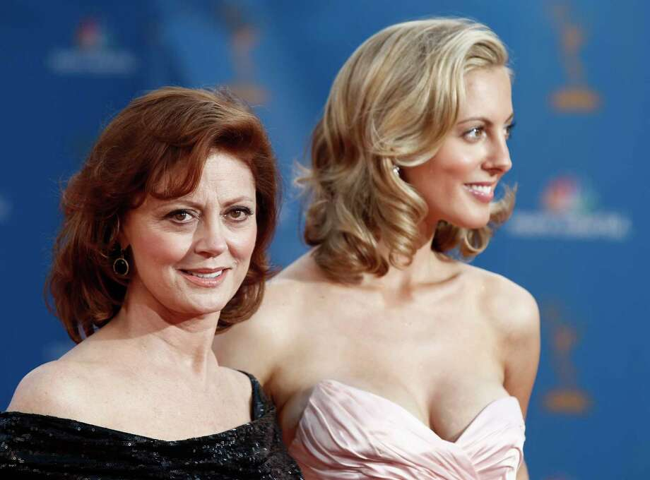 FILE - In this Aug. 29, 2010, file photo, Susan Sarandon and her daughter, Eva Amurri arrive for the 62nd Primetime Emmy Awards in Los Angeles. Amurri, who now goes by her married name, Eva Amurri Martino, wrote on her blog Sunday, Jan. 1, 2017, that her infant son sustained a fractured skull and brain bleeding after being accidently dropped by a nurse, and she has suffered anxiety in the weeks since the incident. (AP Photo/Matt Sayles, File) ORG XMIT: PAPM105 Photo: Matt Sayles / Copyright 2017 The Associated Press. All rights reserved.