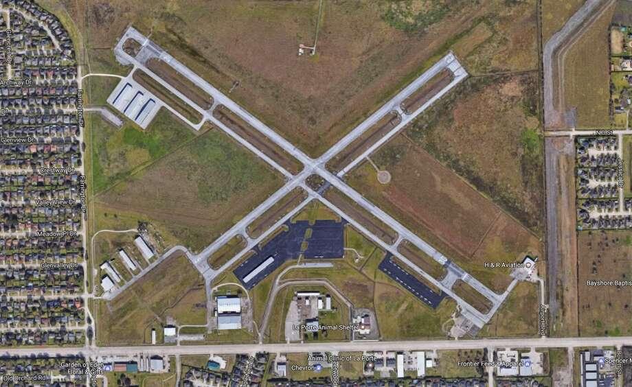 La Porte Municipal Airport Photo: Google Earth