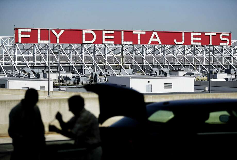 Passenger revenue for each seat flown a mile is expected to climb as much as 3 percent in the second quarter, Delta says. Photo: David Goldman /Associated Press / Copyright 2016 The Associated Press. All rights reserved.