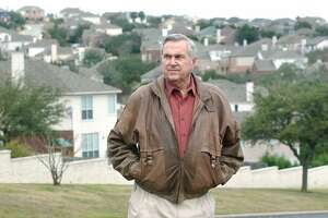 Developer Dan Parman in Stone Oak arein January 2003. Parman and three partners laid the groundwork for the master-planned community in the late '70s and early '80s.