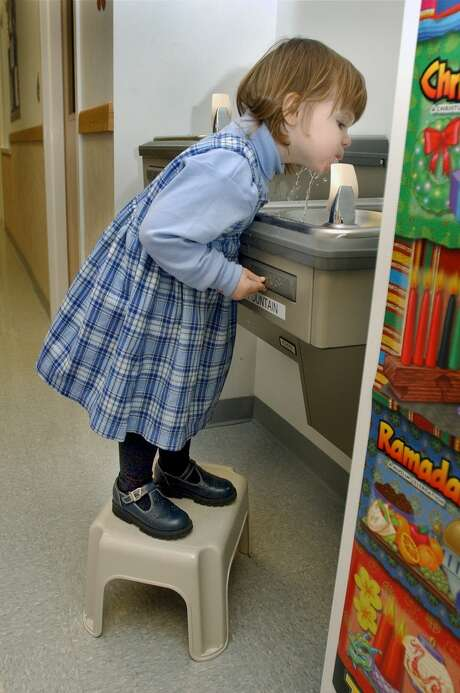 Water delivery systems at home and school are often lined with lead.  Photo: File Photo\Carol Kaliff / The News-Times File Photo