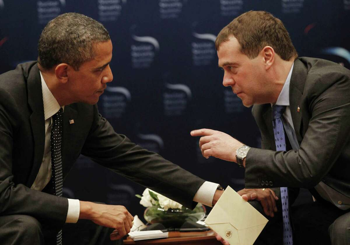 When, during an open-mic conversation, President Obama asked then-Russian President Dmitry Medvedev to relay to Vladimir Putin his ability to be more