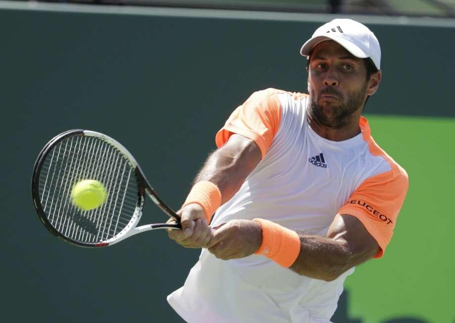 At age 33, Fernando Verdasco is still playing at a high level. Photo: Lynne Sladky/Associated Press