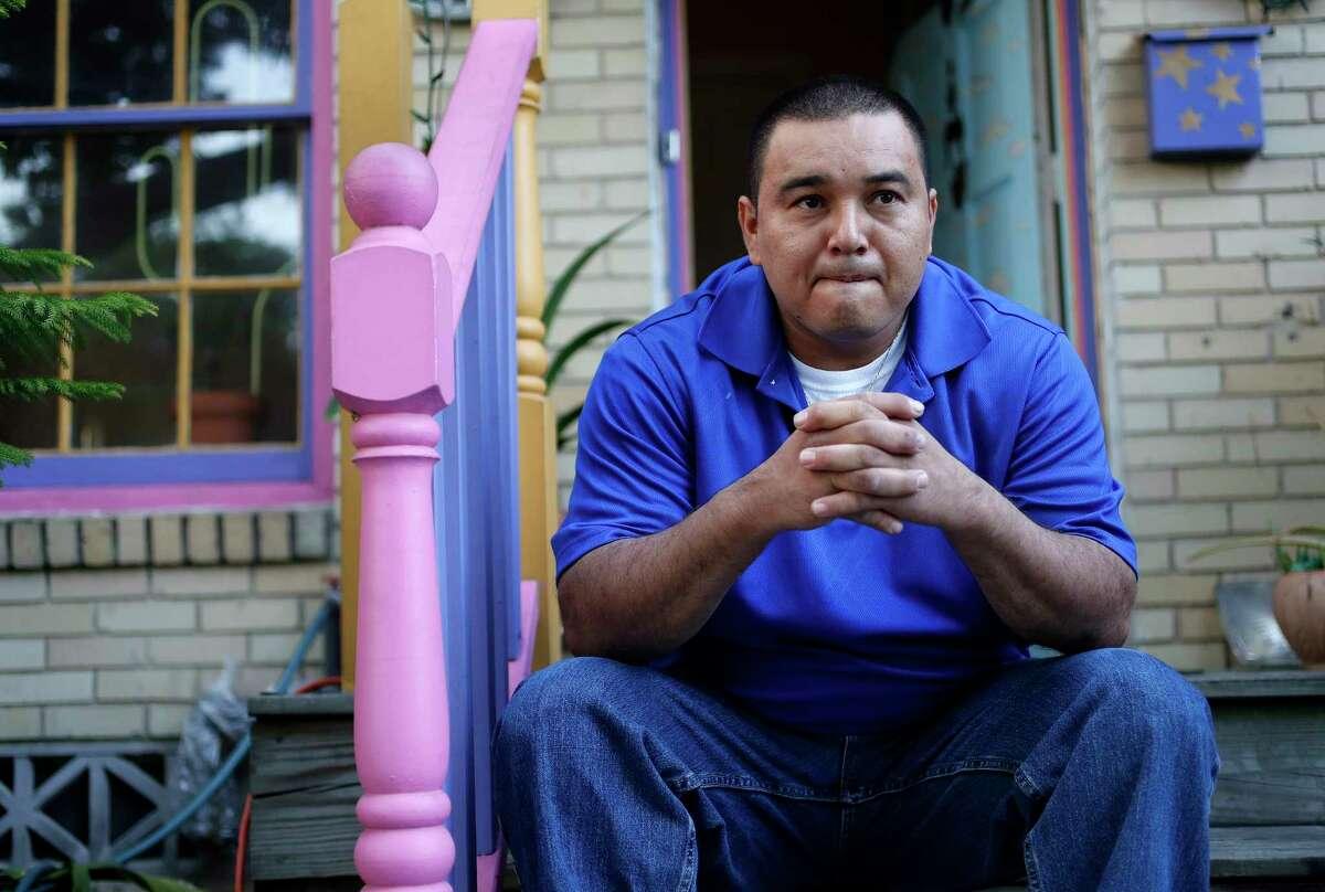 Douglas Menjivar, who is seeking asylum, said he was twice attacked at a Conroe detention center.