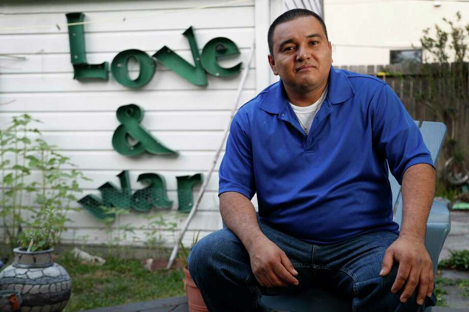 Douglas Menjivar said ICE officials did little to investigate his reports of sexual assault and that one supervisor called him 'stupid' and left him in the same holding cell with his attackers. Photo: Karen Warren, Staff Photographer / 2017 Houston Chronicle