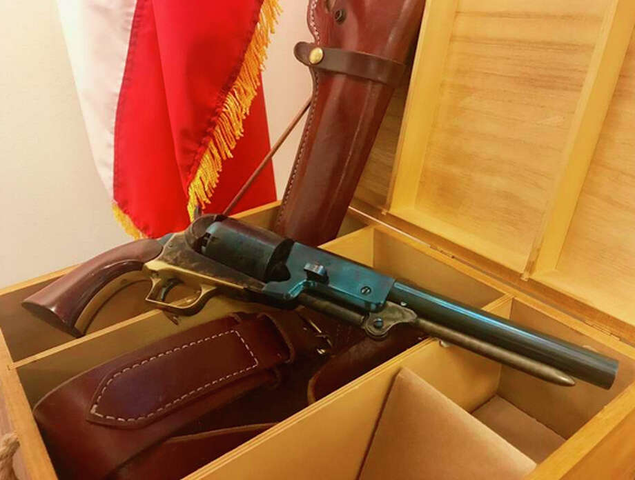 The 1847 Colt Walker, a replica of which is shown above, could become the official handgun of Texas. The pistol was used in the Mexican-American War. / handout