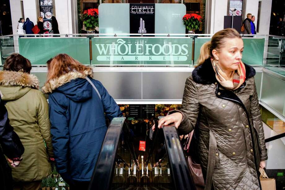 Austin-based Whole Foods Market has a store at Columbus Circle in Manhattan.  Photo: STEPHEN SPERANZA, STR / NYTNS