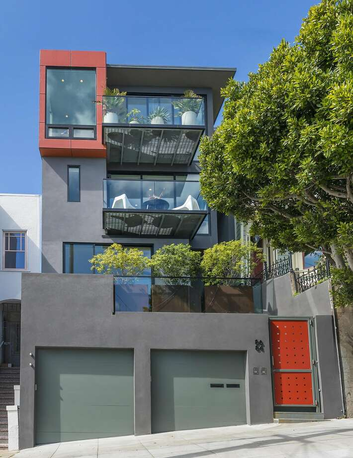 86 Ord St. in Corona Heights is a five bedroom, four bathroom available for $4.795 million. Photo: Olga Soboleva / Vanguard Properties